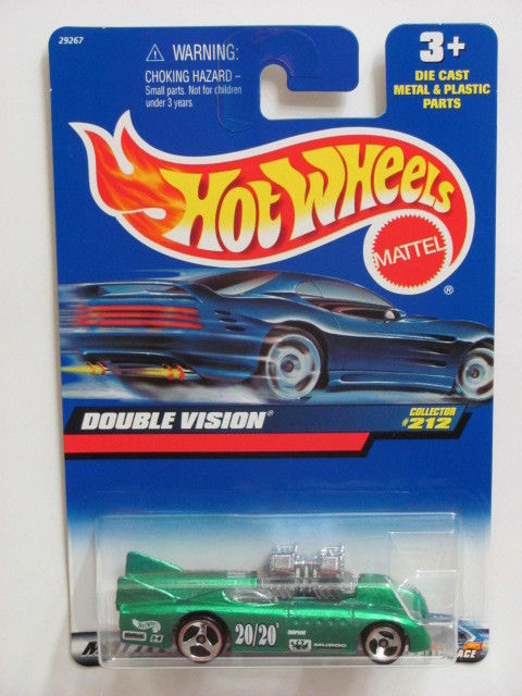 HOT WHEELS 2000 DOUBLE VISION COLLECTOR #212 GREEN