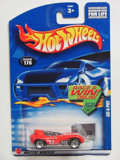 HOT WHEELS 2002 CAT-A-PULT #176 RED