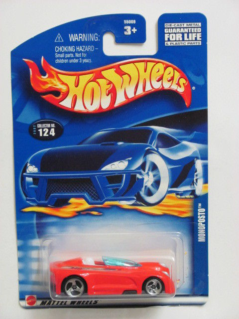 HOT WHEELS 2002 MONOPOSTO #124 RED