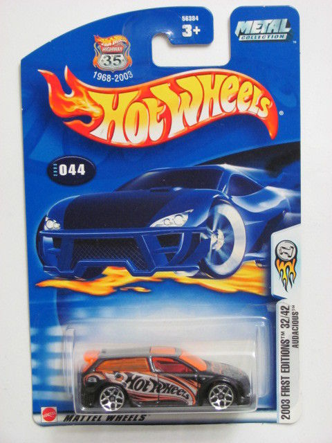 HOT WHEELS 2003 FIRST EDITIONS 32/42 AUDACIOUS #044