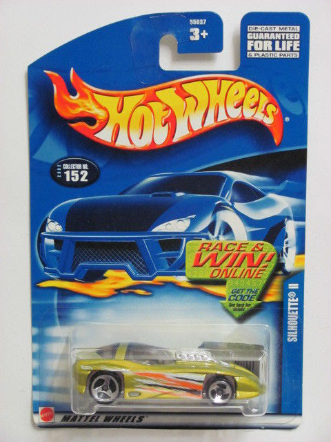HOT WHEELS 2002 SILHOUETTE II #152