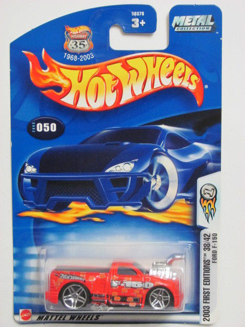 HOT WHEELS 2003 FIRST EDITIONS FORD F-150 #050 RED
