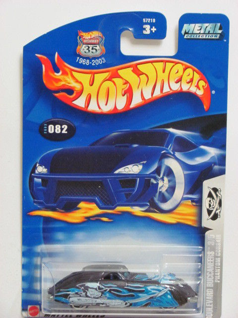 HOT WHEELS 2003 BOULEVARD BUCCANEERS PHANTOM CORSAIR #082