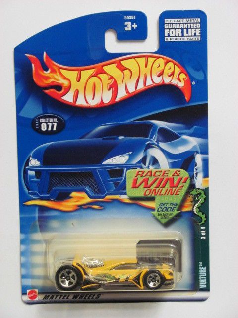 HOT WHEELS 2002 VULTURE 3 OF 4 COLLECT. #077