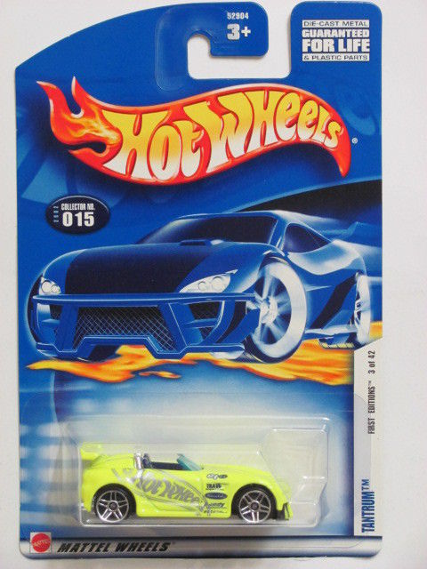 HOT WHEELS 2002 FIRST EDITIONS TANTRUM #015