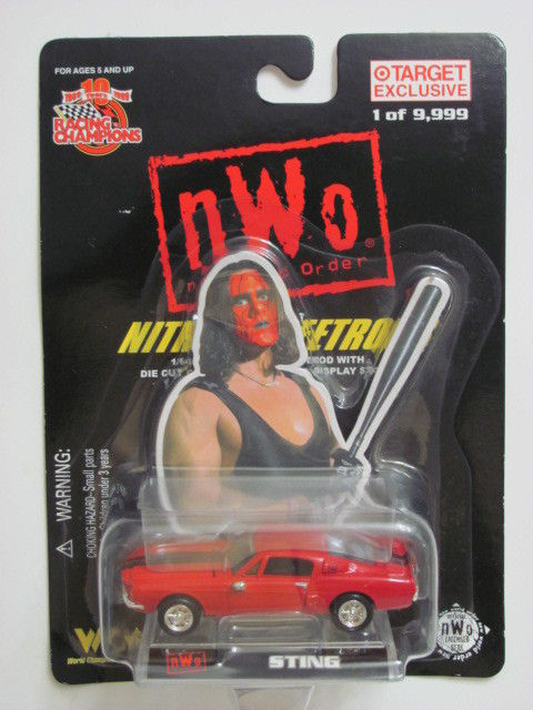 RACING CHAMPIONS NWO NITRO STREETRODS STING 1:64 SCALE
