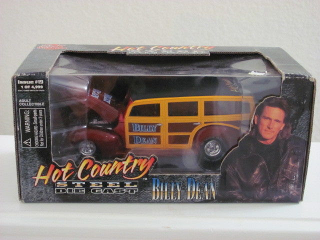 "RACING CHAMPION 1/24 HOT COUNRTY STEEL BILLY DEAN ""WOODIE"" 1 OF 4999"