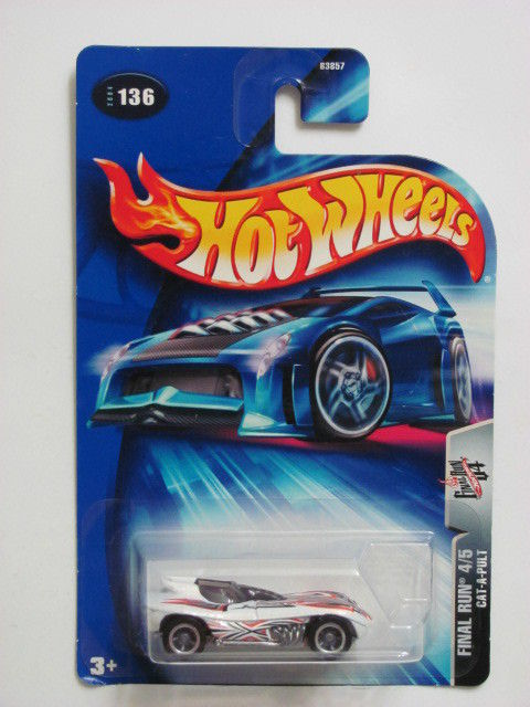 HOT WHEELS 2004 FINAL RUN 4/5 CAT-A-PULT #136