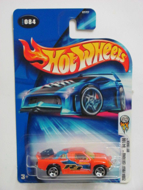 HOT WHEELS 2004 FIRST EDITIONS OFF TRACK #084 ORANGE