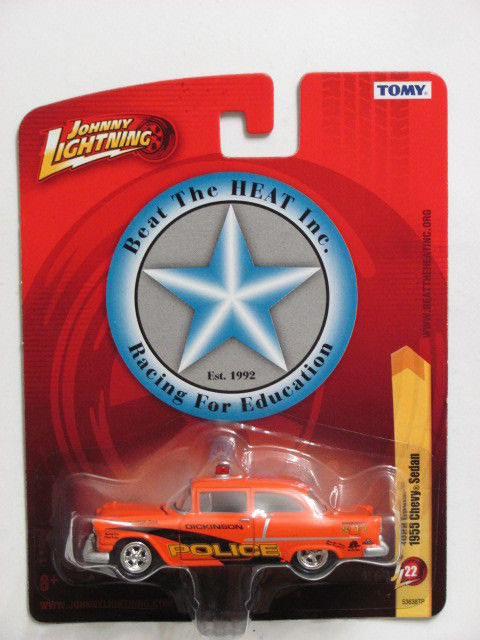 JOHNNY LIGHTNING 1955 CHEVY SEDAN JL22 - TOMY