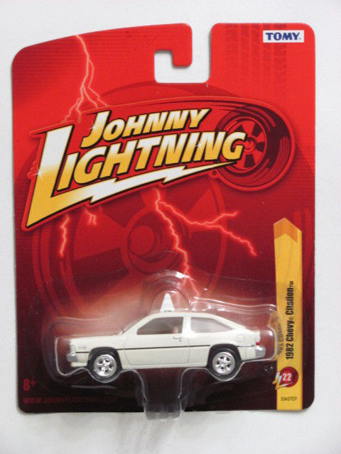 JOHNNY LIGHTNING 1982 CHEVY CITATION JL22 - TOMY