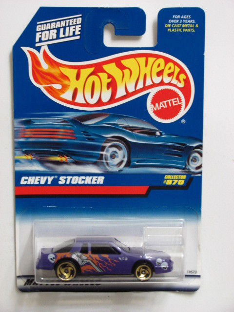 HOT WHEELS 1998 CHEVY STOCKER #870 PURPLE