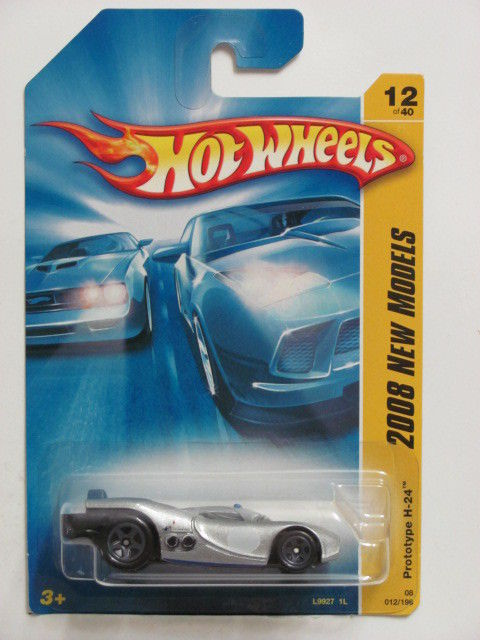 HOT WHEELS 2008 NEW MODELS PROTYPE H-24 #12/40 SILVER