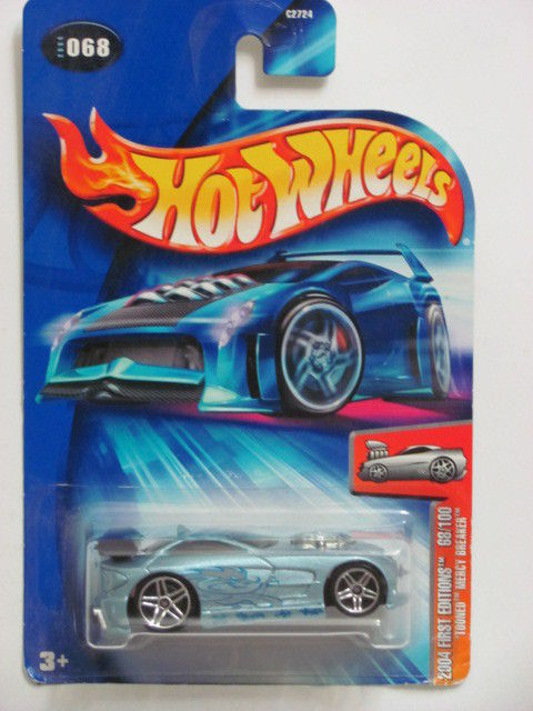 HOT WHEELS 2004 FIRST EDITIONS TOONED MERCY BREAKER #068