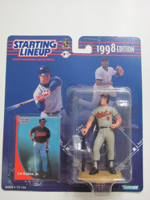 STARTING LINEUP 1998 EDITION CAL RIPKEN, JR. FIGURE AGES 4-104