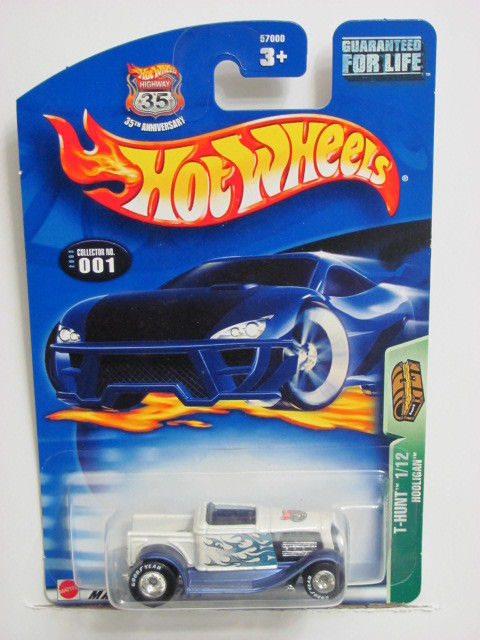 HOT WHEELS 2003 TREASURE HUNT #001 HOOLIGAN WHITE