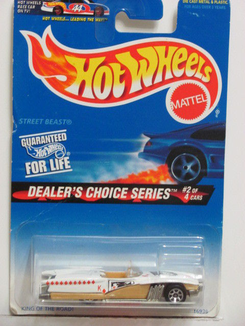 HOT WHEELS 1997 STREET BEAST DEALER'S CHOICE SERIES #566 7 SP