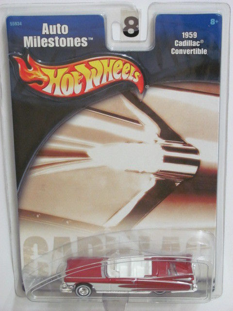 HOT WHEELS - AUTO MILESTONES - 1959 CADILLAC CONVERTIBLE