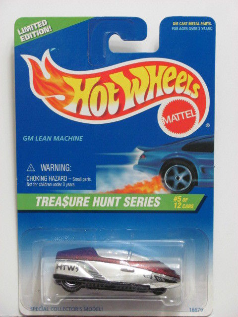 HOT WHEELS TREASURE HUNT 1997 GM LEAN MACHINE CHROME