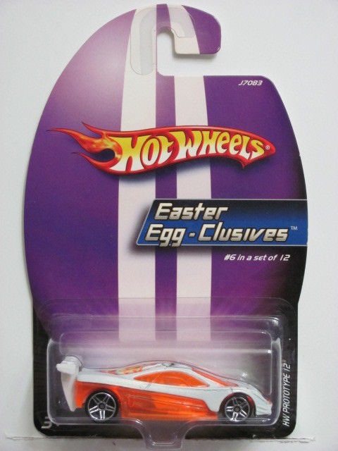 HOT WHEELS 2005 EASTER EGG-CLUSIVES #6 HW PROTOTYPE 12