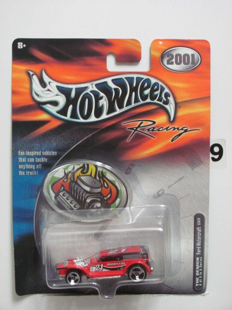2001 HOT WHEELS RACING THE DEMON - FORD MOTORCRAFT #4/4