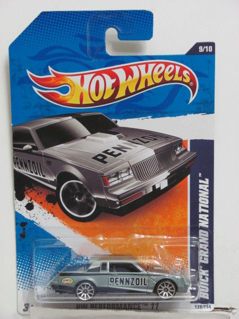 HOT WHEELS 2011 BUICK GRAND NATIONAL - PERFORMANCE #9/10