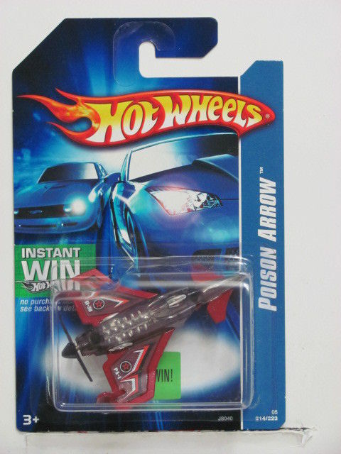 HOT WHEELS 2006 POISON ARROW