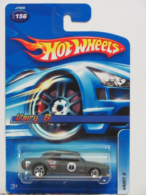 HOT WHEELS 2006 VAIRY 8 #156