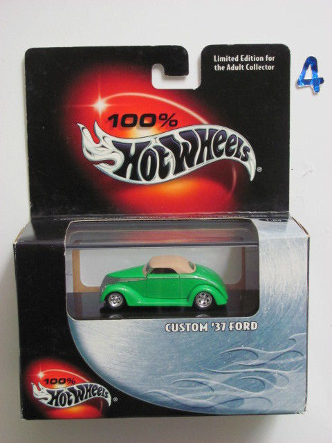 100% HOT WHEELS CUSTOMIZED 1937 FORD