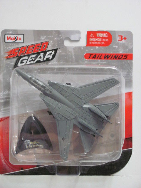 MAISTO TAILWINDS SPEED GEAR F-14 TOMCAT 3+ E+