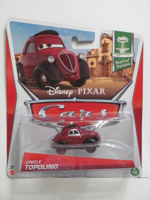 DISNEY PIXAR CARS - 2013 UNCLE TOPOLINO - FESTIVAL ITALIANO E+