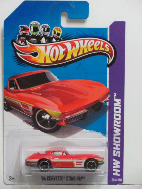 HOT WHEELS 2013 HW SHOWROOM - '64 CORVETTE STINGRAY - CORVETTE 60