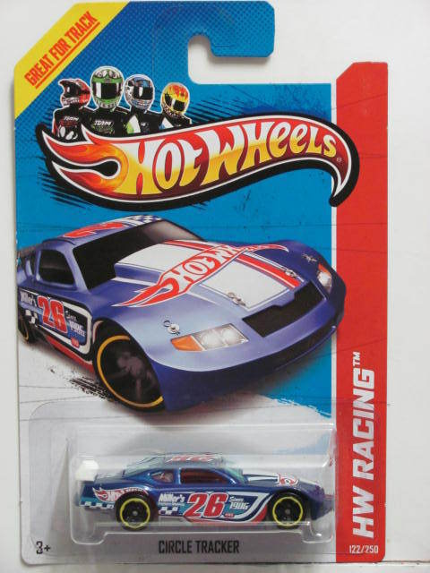 HOT WHEELS 2013 HW RACING - TRACK ACES CIRCLE TRACKER