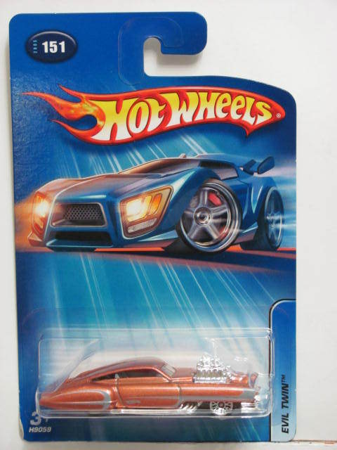 HOT WHEELS 2005 EVIL TWIN #151 BROWN