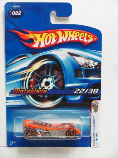 HOT WHEELS 2006 FIRST EDITIONS MOTOBLADE #022