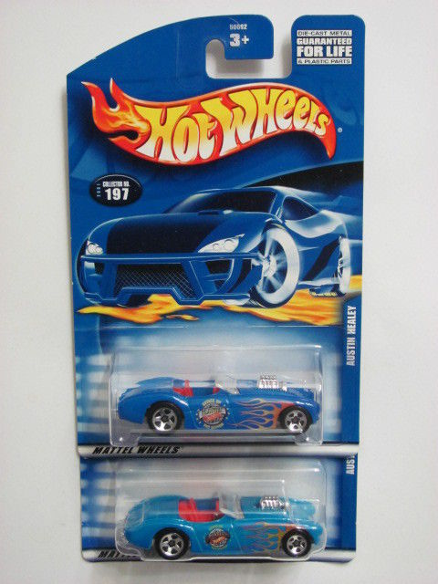 HOT WHEELS 2001 #197 AUSTIN HEALEY - COLOR VARIATION
