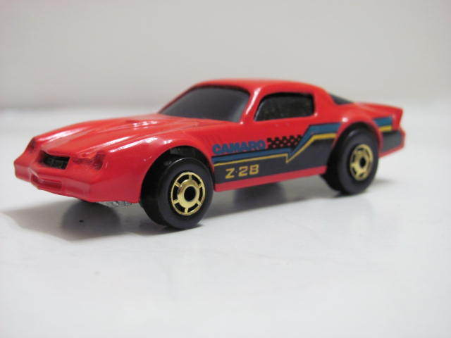 "HOT WHEELS 1982 HOT ONES CAMARO Z-28 RED ""LOOSE"""