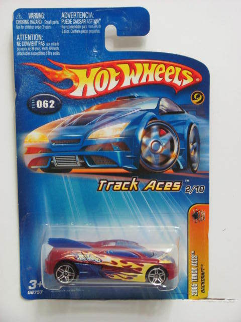 HOT WHEELS 2005 TRACK ACES BACKDRAFT #062