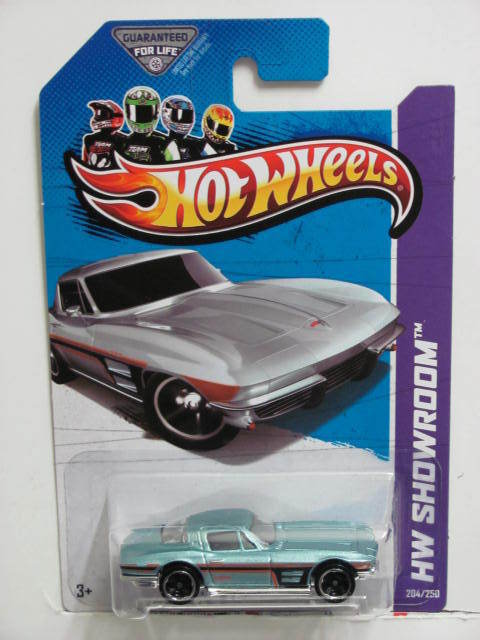 HOT WHEELS 2013 HW SHOWROOM - CORVETTE 60 '64 CORVETTE STING RAY KMART