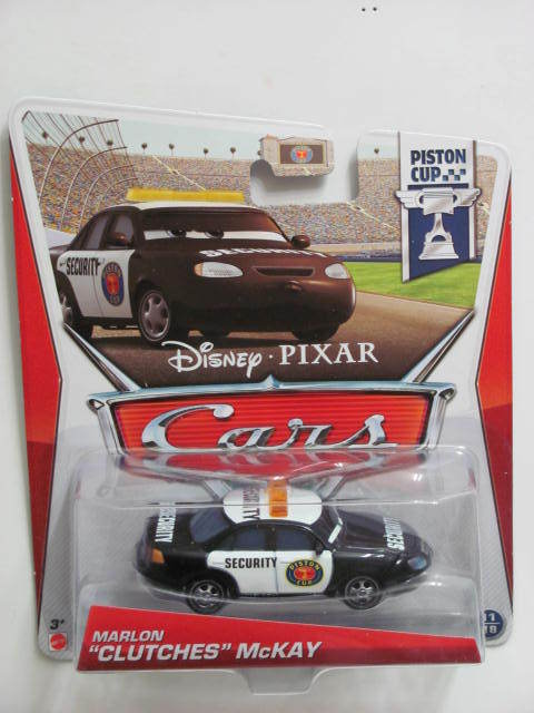 DISNEY PIXAR CARS 2013 PISTON CUP MARLON CLUTCHES McKAY