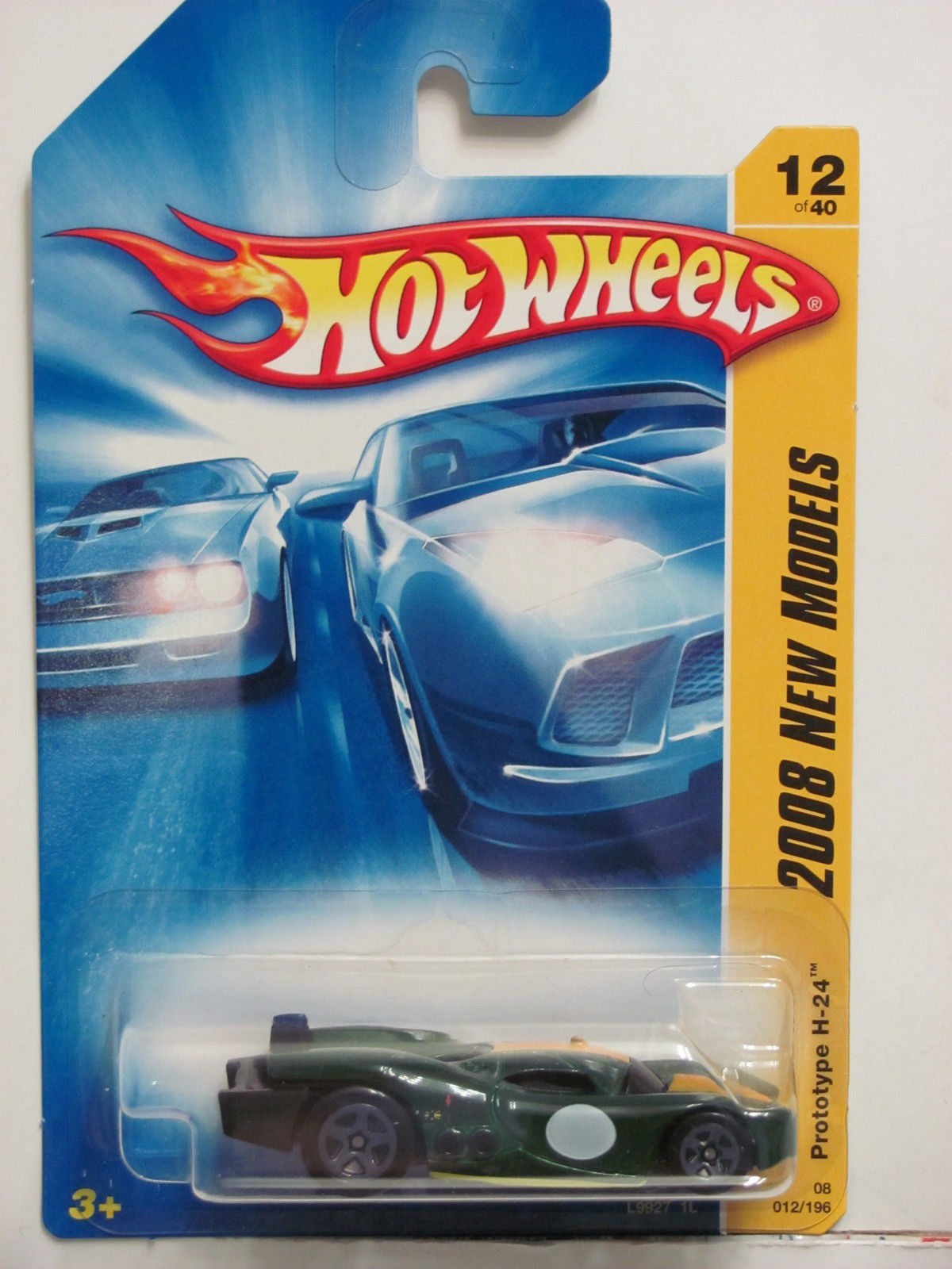 HOT WHEELS 2008 NEW MODELS - PROTOTYPE H-24 #12/40