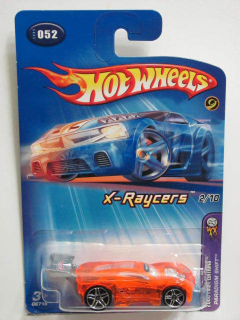 HOT WHEELS 2005 FIRST EDITIONS X-RAYCERS PARADIGM SHIFT #052