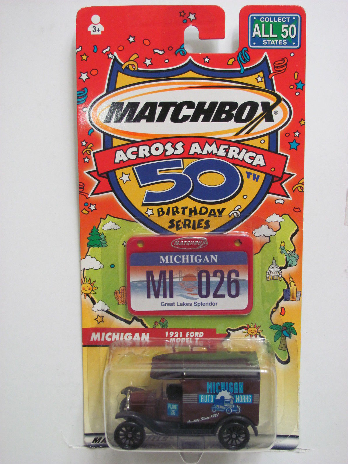 MATCHBOX ACROSS AMERICA 50TH BIRTHDAY SERIES MI 026 MICHIGAN