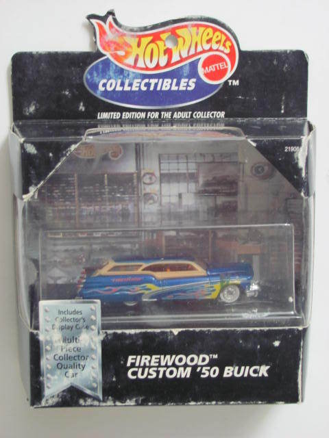 HOT WHEELS 1998 COLLECTIBLES FIREWOOD CUSTOM '50 BUICK