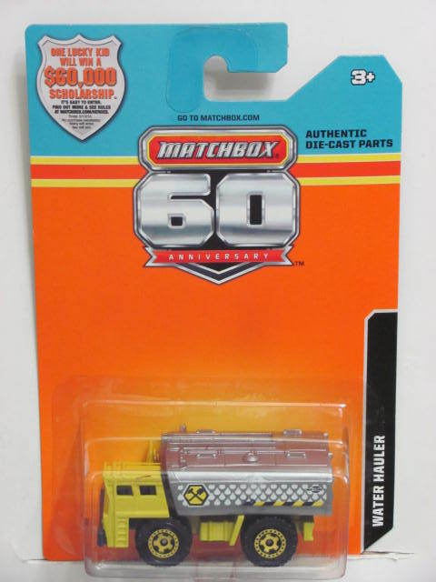 2013 MATCHBOX 60TH ANNIVERSARY CARD WATER HAULER
