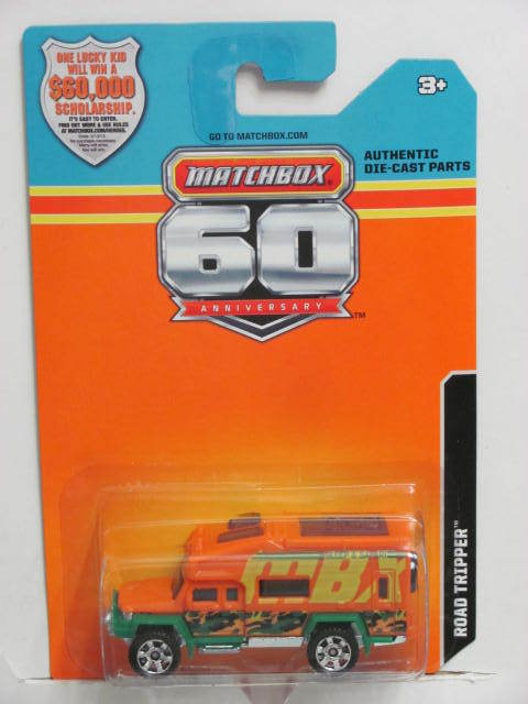 2013 MATCHBOX 60TH ANNIVERSARY CARD ROAD TRIPPER