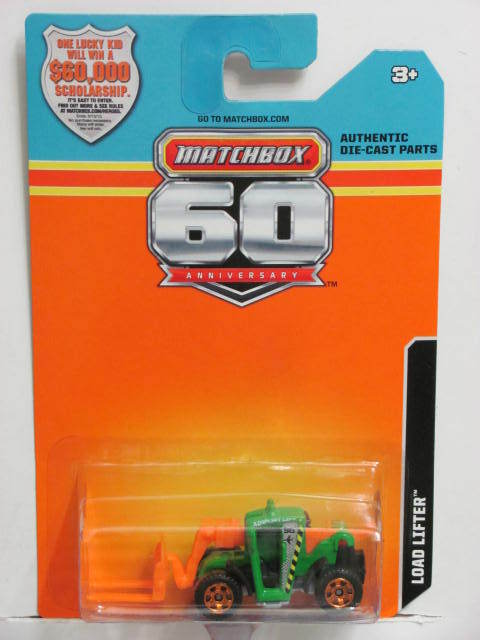 2013 MATCHBOX 60TH ANNIVERSARY CARD LOAD LIFTER