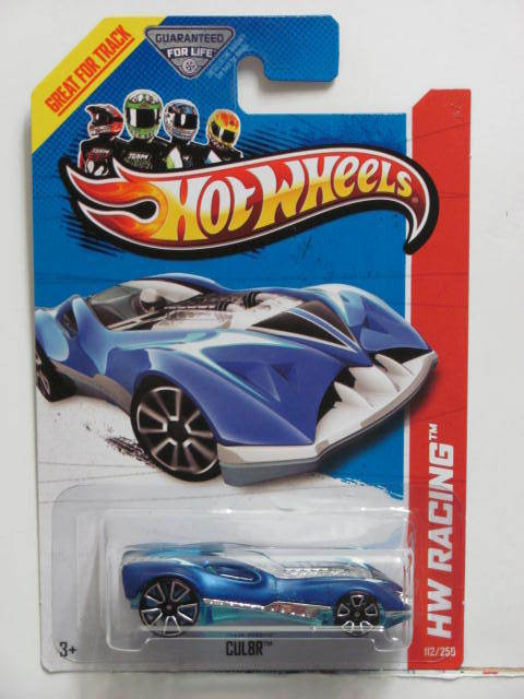 HOT WHEELS 2013 HW RACING - CUL8R - THRILL RACERS BLUE