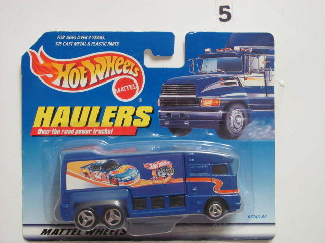 HOT WHEELS HAULERS OVER THE ROAD POWER TRUCKS