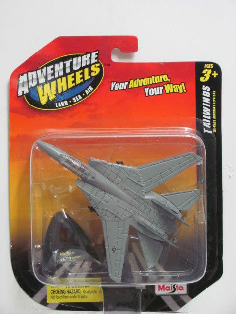 MAISTO TAILWINDS ADVENTURE WHEELS F-14 TOMCAT
